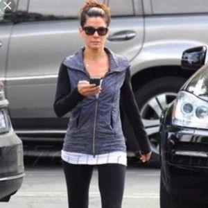 LULULEMON Daily Yoga Jacket Coco Pique Black {OO2}